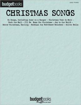 Christmas Songs - Budget Books