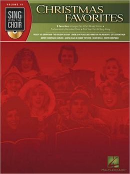 Christmas Favorites - Sing with the Choir, Volume 10