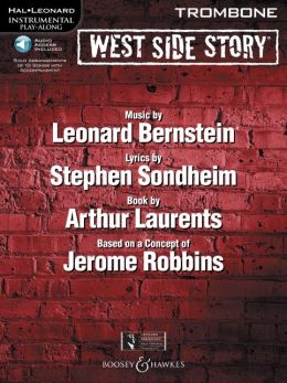 West Side Story for Trombone: Instrumental Play-Along Book/CD Pack