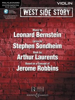 West Side Story for Violin: Instrumental Play-Along Book/CD Pack