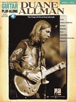 Duane Allman - Guitar Play-along