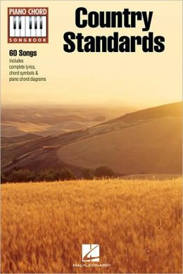 Country Standards - Piano Chord Songbook