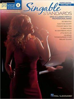 Singable Standards: Pro Vocal Women's