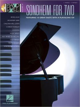 Sondheim for Two: Piano Duet Play-Along Volume 32