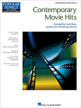 Contemporary Movie Hits: Intermediate Piano Solos