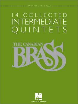 14 Collected Intermediate Quintets - Trumpet 2 in B-flat