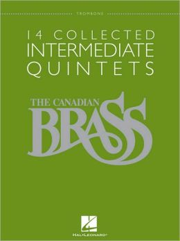 14 Collected Intermediate Quintets - Trombone