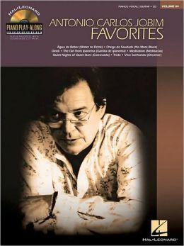 Antonio Carlos Jobim Favorites: Piano Play-along Volume 84