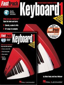 FastTrack Keyboard Method Starter Pack: Includes Book/CD/DVD