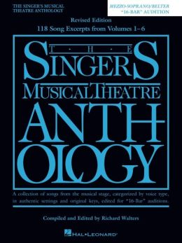 Singer's Musical Theatre Anthology: Mezzo-Soprano
