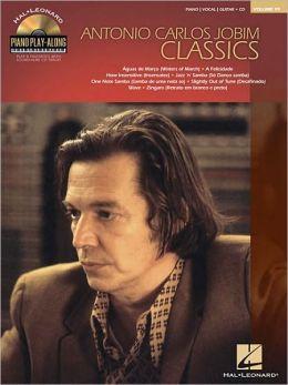 Antonio Carlos Jobim Classics: Piano Play-Along Volume 99