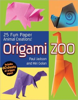 Origami Zoo: 25 Fun Paper Animal Creations!