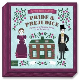 Pride & Prejudice BabyLit Counting Primer Book and Playset