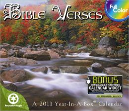 2011 Bible Verses Box Calendar