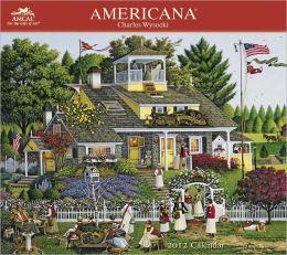 2012 Charles Wysocki Americana Wall Calendar