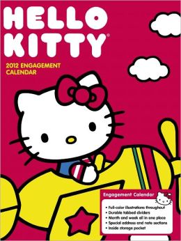 2012 Hello Kitty Engagement Calendar