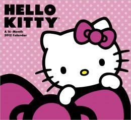 2012 Hello Kitty Wall Calendar