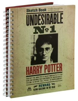 Harry Potter ''Undesirable'' Sketchbook 9.25 x 11