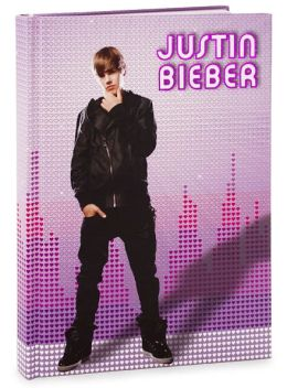 Justin Bieber Bound Lined Foil Journal 6 X 8.5