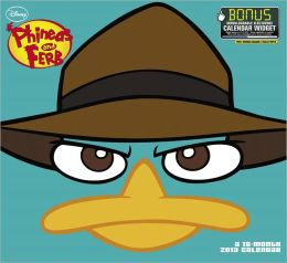 2013 Phineas and Ferb Wall Calendar