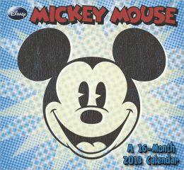 2013 Mickey Mouse Mini Wall Calendar