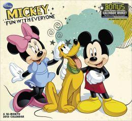 2013 Disney - Mickey Mouse Mead Wall Calendar