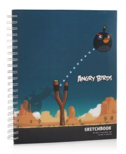 The Angry Birds Lenticular Spiral Sketchbook