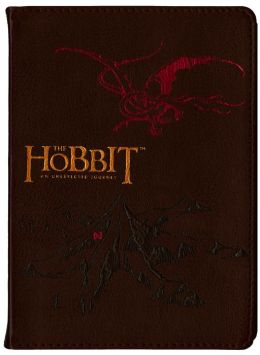 The Hobbit Brown Bound Flexi Journal