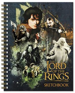 The Lord of the Rings Spiral Sketchbook