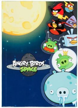 Angry Birds Mag Flap Bookmark Journal (5.25 x 7.25)