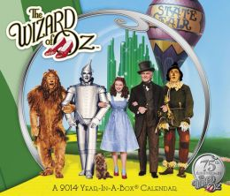 2014 The Wizard of Oz Wall Calendar