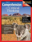 Product Image. Title: Comprehension and Critical Thinking: Grade 6