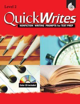 Quick Writes Level 2