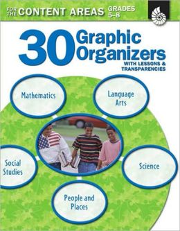 30 Graphic Organizers for the Content Areas Grades 5-8 (Book with Transparencies): To Improve Literacy Skills
