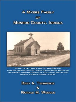 A Myers Family of Monroe County, Indiana