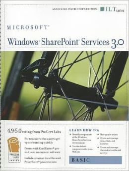 Windows SharePoint Services 3.0: Basic [With CDROM]