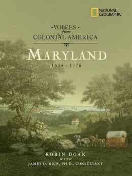 Maryland, 1634-1776