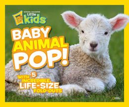 Baby Animal Pop!: With 5 Incredible, Life-Size Fold-Outs