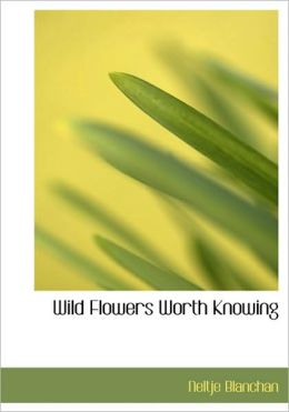 Wild Flowers Worth Knowing (Large Print Edition)