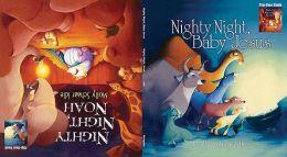 Molly Schaar Idle Flip Over Book: Nighty, Night, Noah and Nighty, Night, Baby Jesus