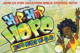 Vacation Bible School 2013 Hip-Hop Hope Pkg 25 Invitation Postcard VBS: Jesus Makes me Glad!