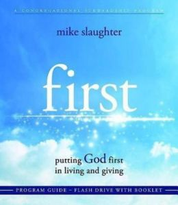 first - Program Guide Flash Drive with Booklet: putting GOD first in living and giving