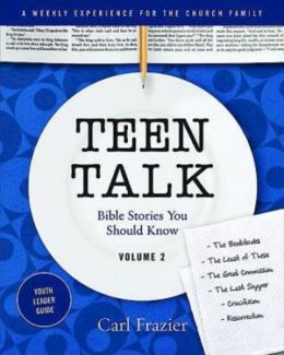Table Talk Volume 2 - Teen Talk Youth Leader Guide: Bible Stories You Should Know