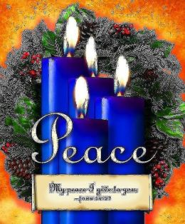 Advent Sunday 4 Blue Bulletin 2013, Large Size (Package of 50)