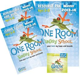 One Room Sunday School Kit Winter 2013-14: Grow Your Faith by Leaps and Bounds