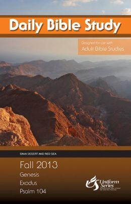 Daily Bible Study Fall 2013