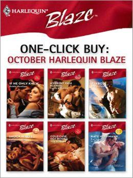 One-Click Buy: October Harlequin Blaze