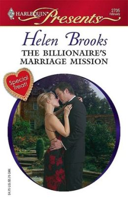 Billionaire's Marriage Mission (Harlequin Presents Series #2705)