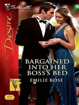 Bargained Into Her Boss's Bed (Silhouette Desire Series #1934)