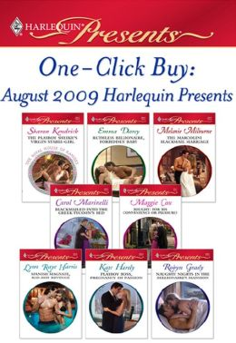 One-Click Buy: August 2009 Harlequin Presents